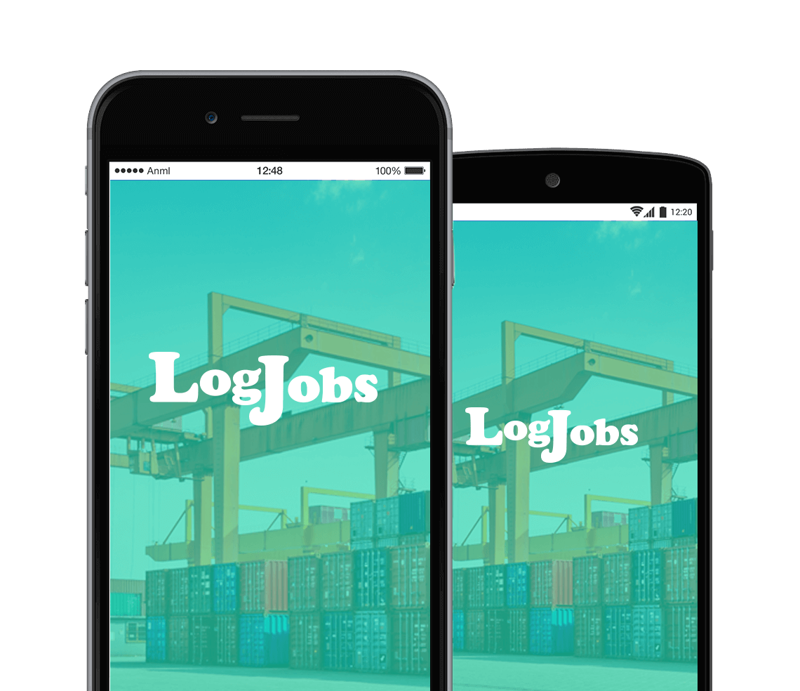 logjobs-app-screens